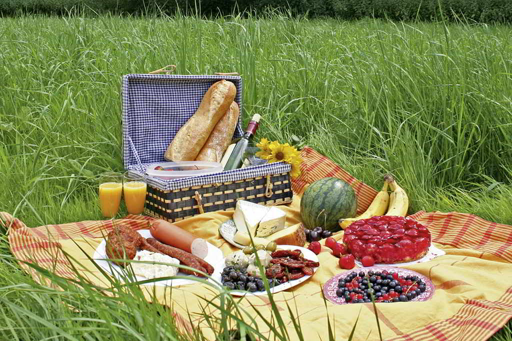 Your personal picnic basket - a service of Bülow Palais Dresden