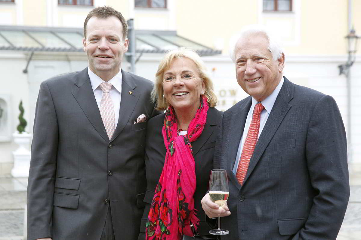 Ralf J. Kutzner with Monika and Horst Bülow
